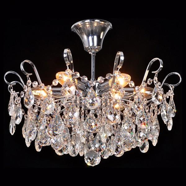 Люстра на штанге Happy Diamonds HAPPY DIAMONDS I 11546/6C CHROME фото