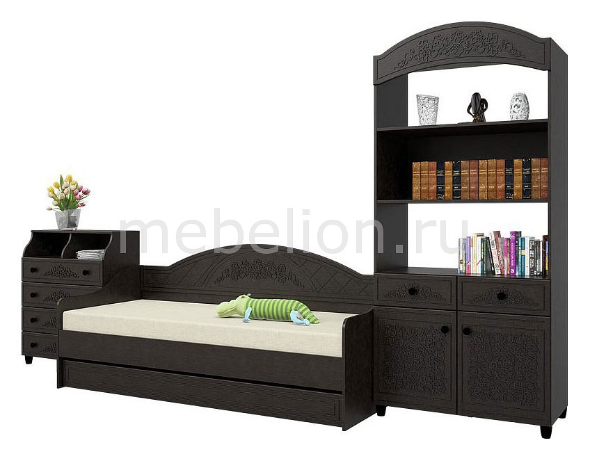 Комод детский Компасс-мебель KOM_Sonya_premium_childrens_room_1 от Mebelion.ru