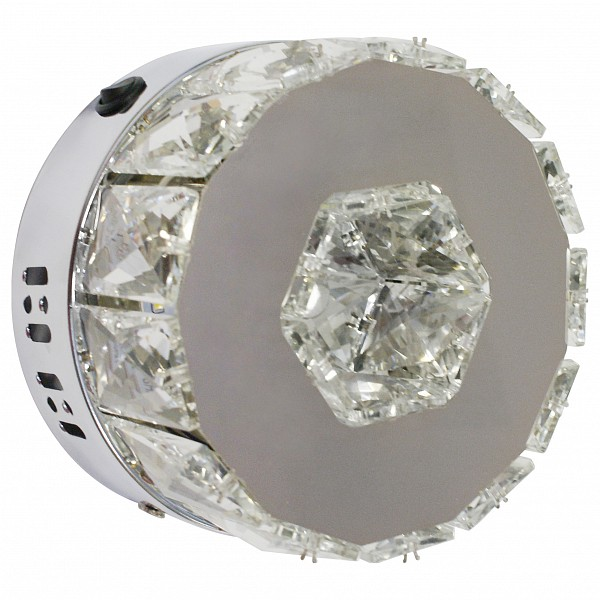Накладной светильник Тор-Кристалл 08608(3000-6000K) фото