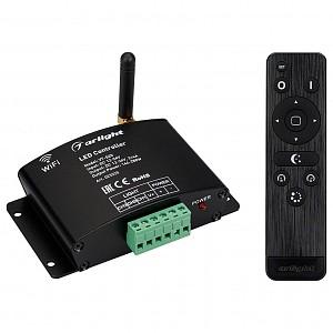 Контроллер-регулятор цвета RGB с пультом ДУ VT-S20-3x4A WiFi (12-24V, ПДУ Стик 12кн, RF)