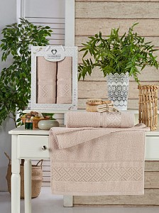 Набор полотенец для ванной Elmas