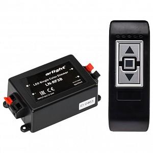 Контроллер-диммер с пультом ДУ LN-RF3B (12-24V,96-192W, ПДУ 3кн)