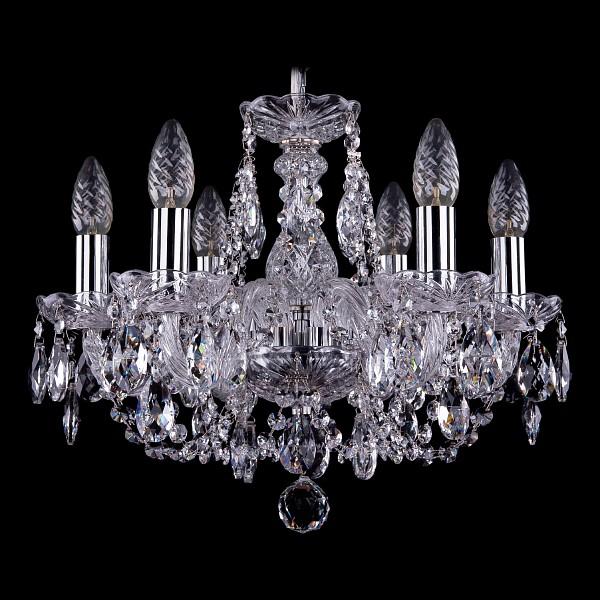 Подвесная люстра 1406/6/141/Ni Bohemia Ivele Crystal  (BI_1406_6_141_Ni), Чехия