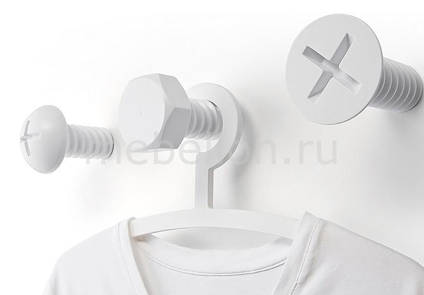 Крючок декоративный Umbra Набор из 3 крючков декоративных Qualy QL10064-WH цена и фото