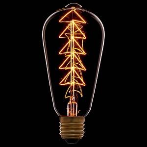 Лампа накаливания ST64 E27 240В 40Вт 2200K 053-532