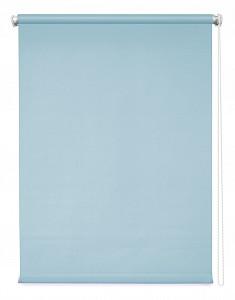 Рулонная штора Плайн 120x4x175 см., цвет васильковый