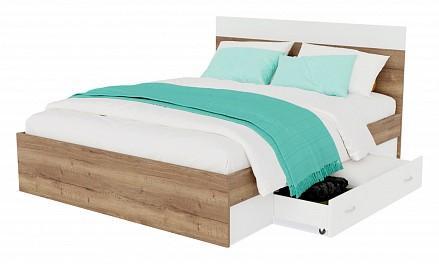 Кровать полутораспальная Диана с матрасом АСТРА 2000x1400