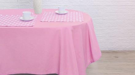 Скатерь с салфетками (150x150 см) Капкейк