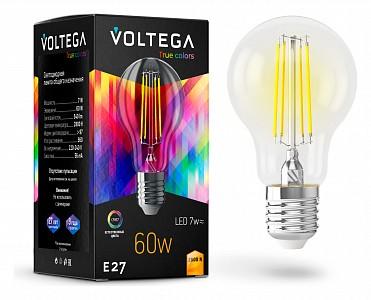 Лампа светодиодная [LED] Voltega E27 7W 2800K