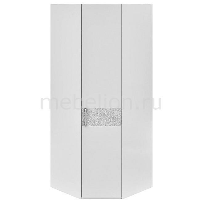 Шкаф платяной угловой Амели СМ-193.07.006 R белый глянец
